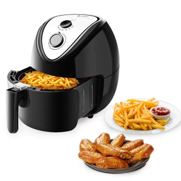 1800W Electric Deep Air Fryer Digital LED Touch Screen Timer Temperature Control