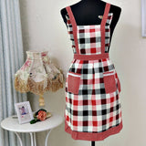 Women Apron Home Cotton Bib Polyester Lining