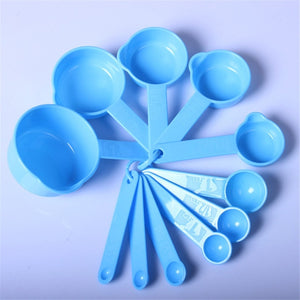 Measuring Spoon Plastic 11 Sets Of Spoon
