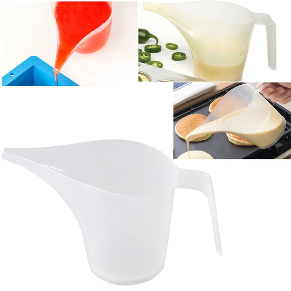 Measuring Cup Tip Mouth Plastic Measuring Jug