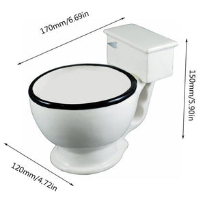 New Creative Toilet Ceramic Mug Prank, Funny For Gifts