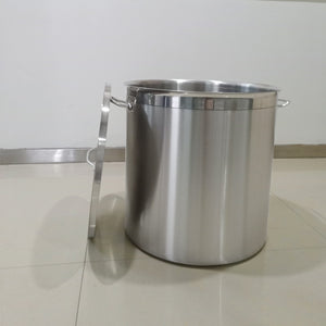 Premium Commercial Deep Stainless Steel Stock Pot With Lid handles