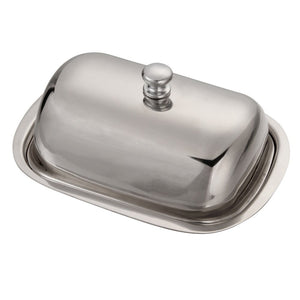1pcs Professional Stainless Steel Butter Dish Set