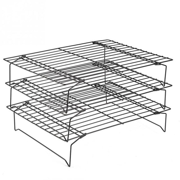 Three layers Nonstick Cooling Rack Set