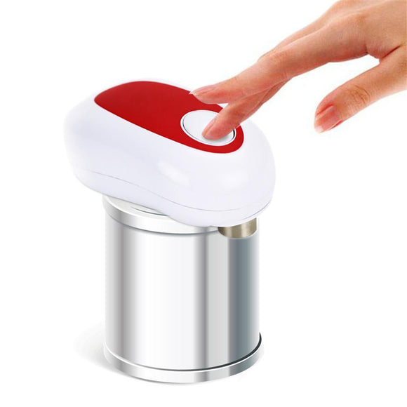 Electric One-Button Can, Bottle Opener Automatic Innovative Without Battery Hands Free