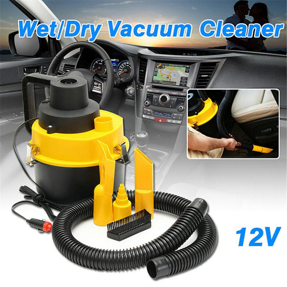Car Vacuum Cleaner 12V Dual-use Wet Dry Vac Vacuum Cleaner High Suction