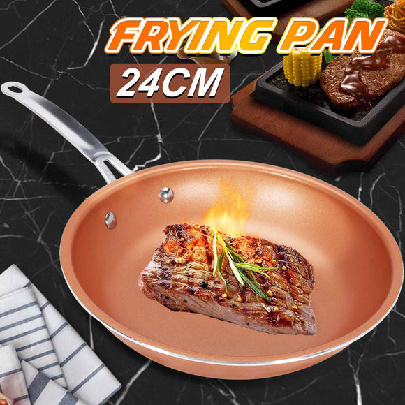 Non-stick Skillet Ceramic Coating Induction Dishwasher Safe