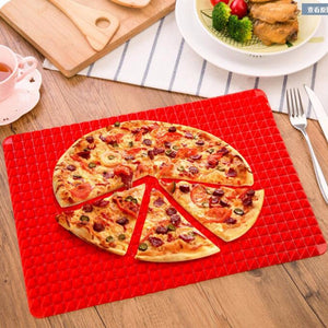 Home Red Pan Nonstick Silicone Baking Mats