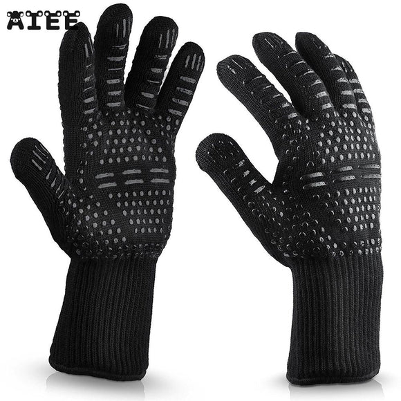 300-500 Centigrade Extreme Heat Resistant BBQ Gloves