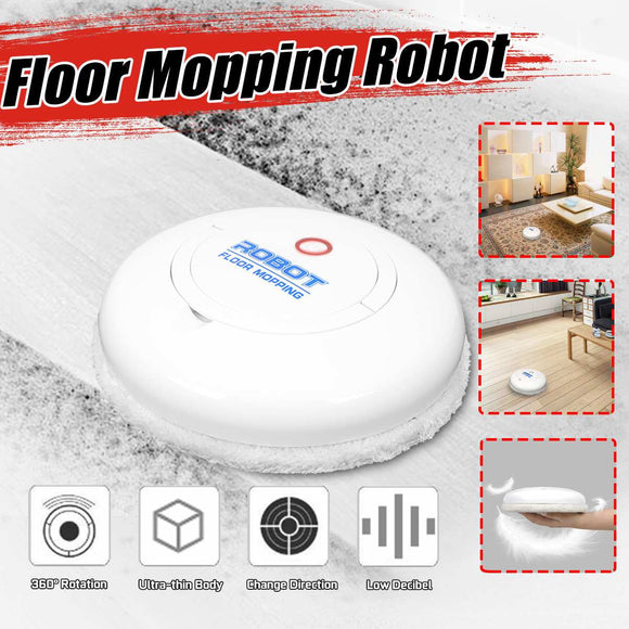 Automatic Intelligent Electric Vacuum Cleaner Quiet Floor Mopping Robot