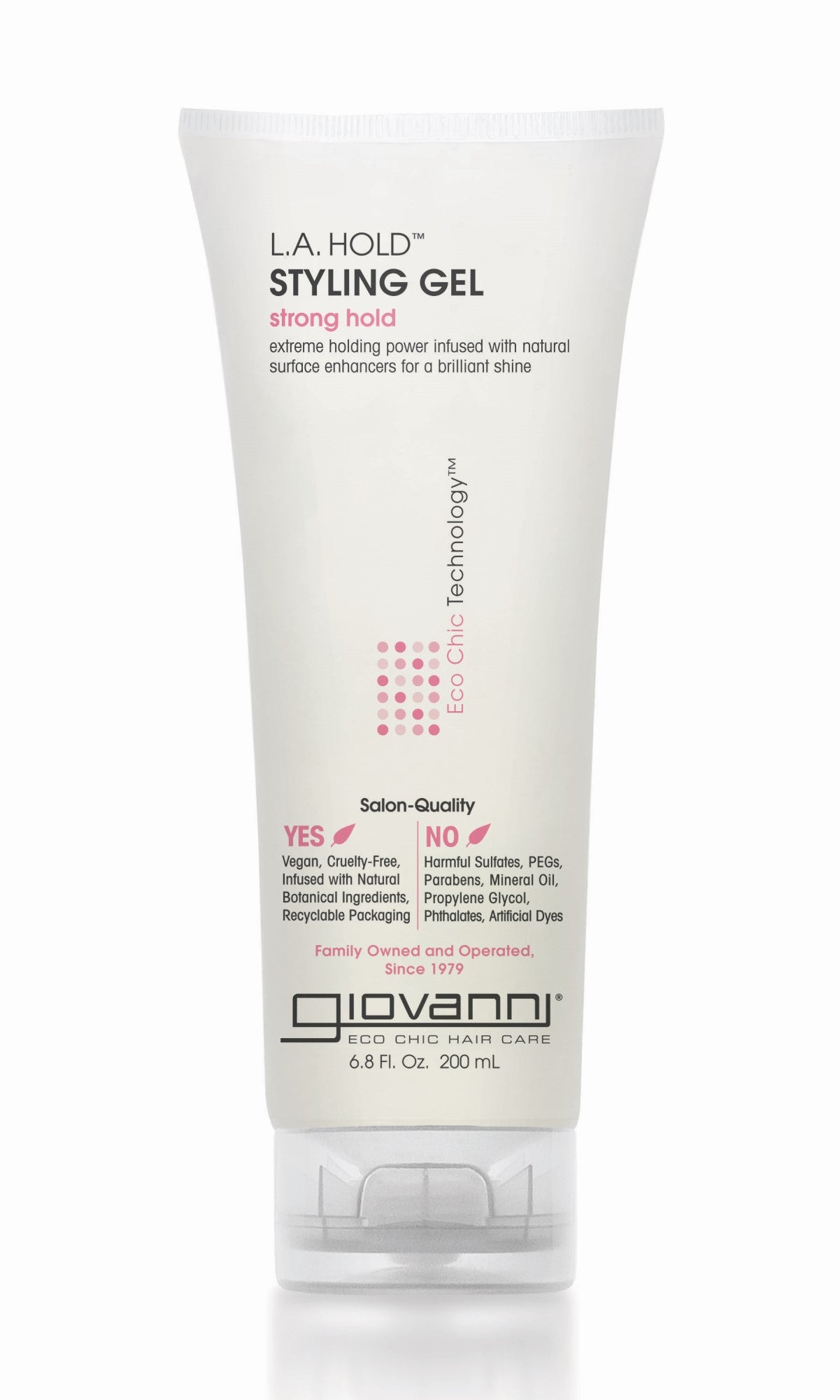 Giovanni, LA Natural Styling Gel (200ml)