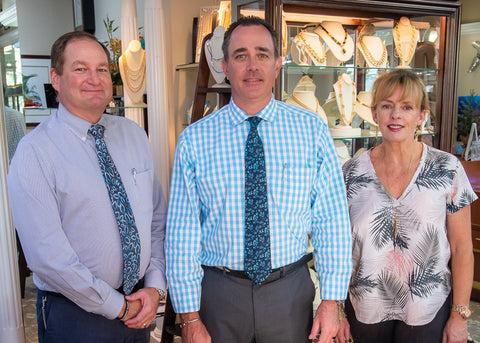Matthew Schroeders and Employees at Jon Paul Jewelers