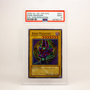 2004 YUGIOH! SYE DARK MAGICIAN - POP KULCHA COLLECT - Graded cards, sealed products, toys and video games