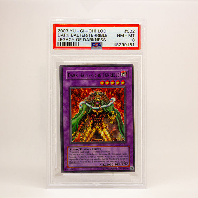 2003 YUGIOH! LOD DARK BALTER. - POP KULCHA COLLECT - Graded cards, sealed products, toys and video games