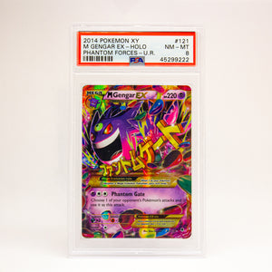2014 POKEMON XY M GENGAR EX - POP KULCHA COLLECT - Graded cards, sealed products, toys and video games