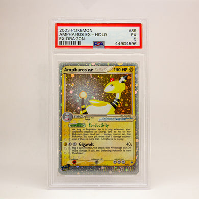 2003 POKEMON EX DRAGON AMPHAROS EX - POP KULCHA COLLECT - Graded cards, sealed products, toys and video games