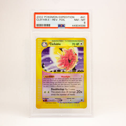 2002 POKEMON EXPEDITION CLEFABLE - POP KULCHA COLLECT - Graded cards, sealed products, toys and video games