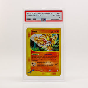 2003 POKEMON AQUAPOLIS ENTEI - POP KULCHA COLLECT - Graded cards, sealed products, toys and video games