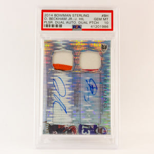 2014 BOWMAN STERLING O. BECKAHAM JR/ J. HILL - POP KULCHA COLLECT - Graded cards, sealed products, toys and video games