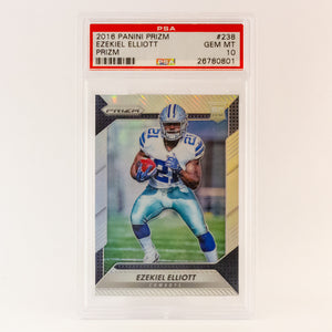 2016 PANINI PRIZM EZEKIEL ELLIOT - POP KULCHA COLLECT - Graded cards, sealed products, toys and video games