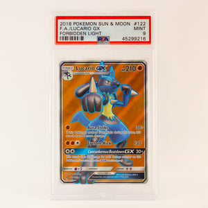 2018 POKEMON S&M FULL ART LUCARIO - POP KULCHA COLLECT - Graded cards, sealed products, toys and video games