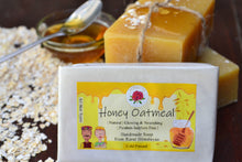 Load image into Gallery viewer, Handmade Honey Oatmeal Soap