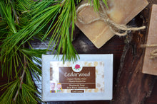 Load image into Gallery viewer, Handmade Cedarwood Soap