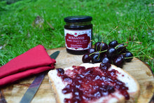 Load image into Gallery viewer, Handmade Black Cherry Jam with Cherry Chunks