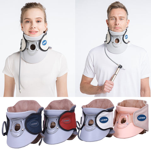 LUG Cervical Neck Traction Inflatable Air Medical Cervical Traction Device