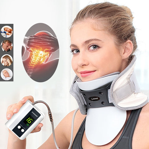 LUG Medical Neck Traction Device. Fix Post corrector