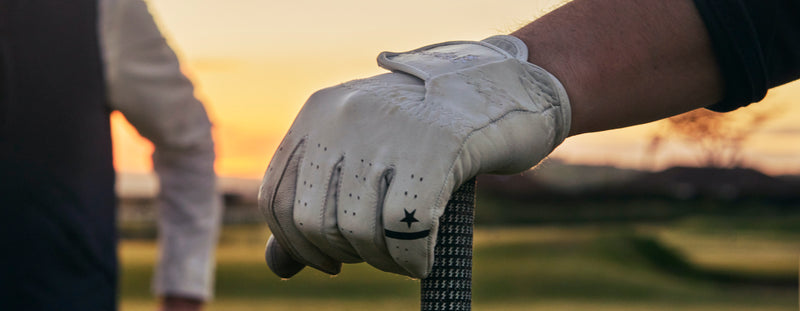 Premium cabretta leather golf gloves from Sounder