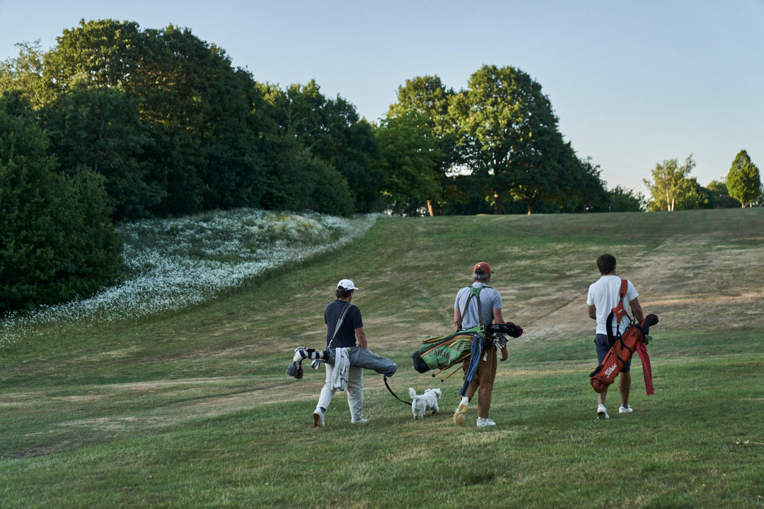 Golf provides an opportunity for men to talk to one another
