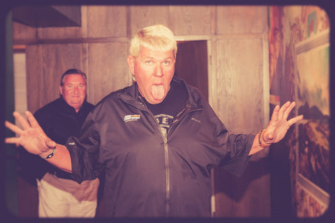 John Daly lets it all hang out