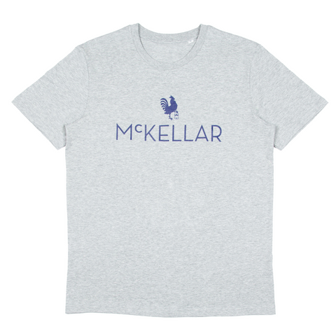 The McKellar T-Shirt - Heathered Grey