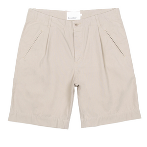 Good Walk Short Mid Stone Twill