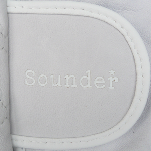 The Sounder Glove 3 Pack - White