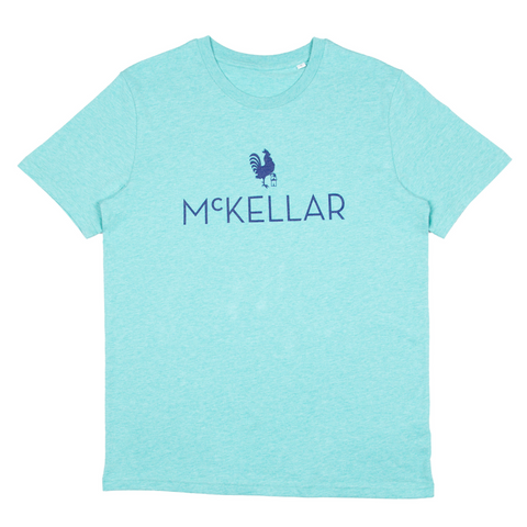 The McKellar T-Shirt - Heathered Green