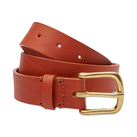 Leather Belt - Light Tan