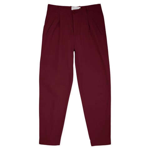 Good Walk Chino Burgundy