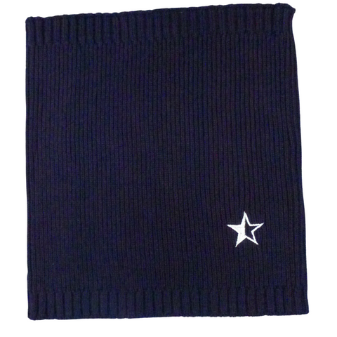 Star Neck Warmer Navy