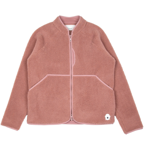 Himalayas Fleece Jacket Pink