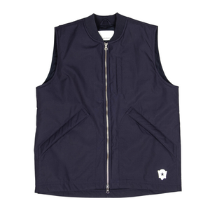 Low Light Gilet '21 in Navy Cambric