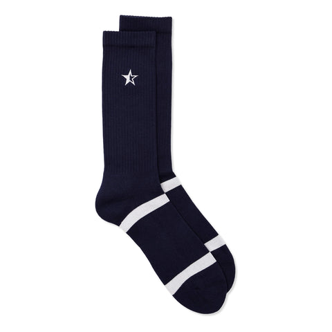 Star Socks Navy