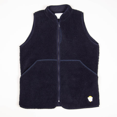 Himalayas Fleece Gilet Navy