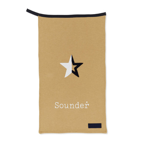 Sounder Golf Towel Tan