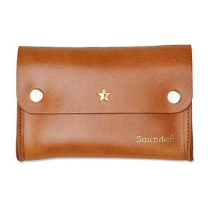 Tidy Leather Pouch - Light Tan