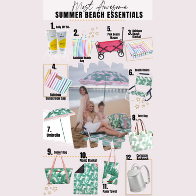 Most Awesome Summer Beach Essentials