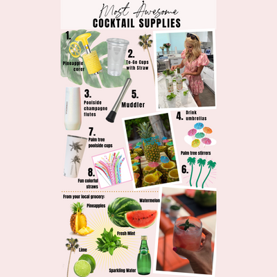 Most Awesome Cocktail Supplies