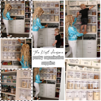 The Most Awesome Pantry Organization Supplies