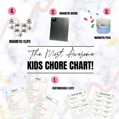 The Most Awesome Kids Chore Chart!
